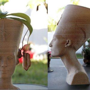 Nefertiti scultura 3D