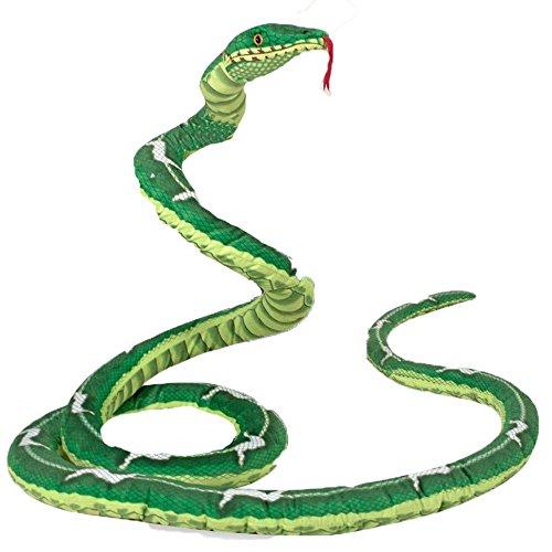 Peluche serpente boa realistico