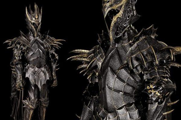 Armatura Sauron in gomma