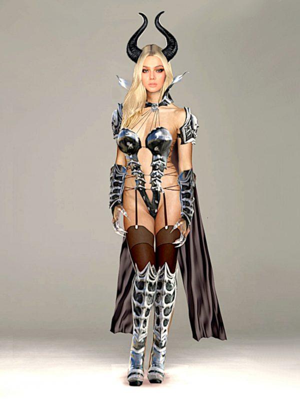 Costume strega fantasy