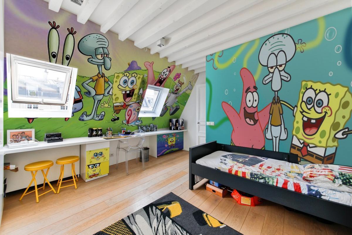 Letto A Castello Pompieri.Camerette Per Bambini Tematiche Personalizzate 3d Art Studio Roma